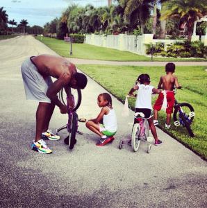 Stoudemire family in Florida.