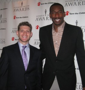 Amare was a recipient of a 2011 Father of the Year award