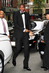 Amare in Calvin Klein s he walked into the Met Gala.