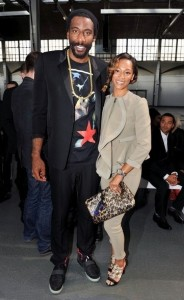 Amar'e & Alexis at Paris Fashion Week