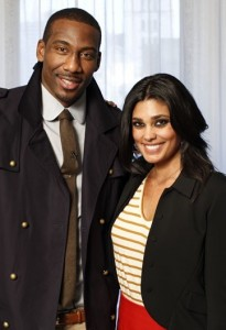 Amar'e with Fashion Icon Rachel Roy