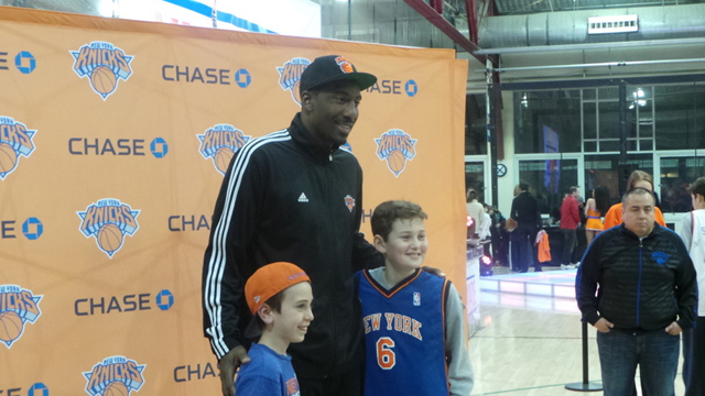meet the team event knicks coach