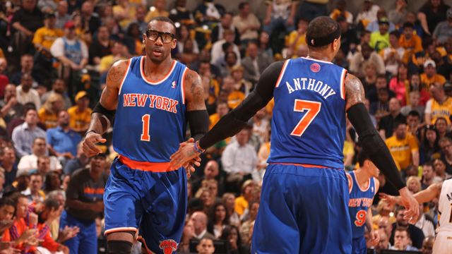 New York Knicks vs Indiana Pacers  - Game Four