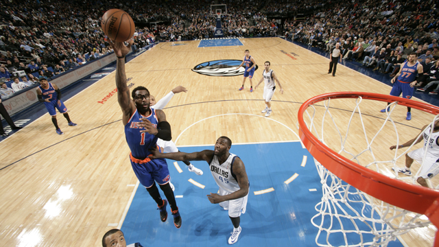 New York Knicks v Dallas Mavericks