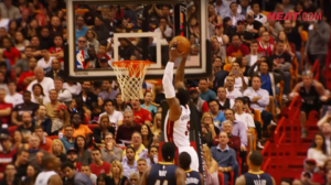 Stat gets up with this dunk from January 4th against the Pacers. Watch it in slow mo.